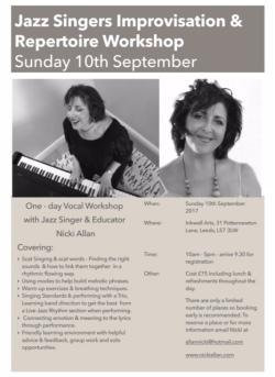 Vocal Workshop Flier