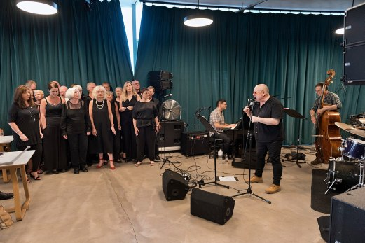 Jazz leeds Choir with Ian Shaw